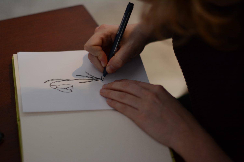 eveline de jonge illustraties illustrator illustreren tekenen tekening goes kloetinge groos op zeeland interview fineliner kroontjespen vulpen